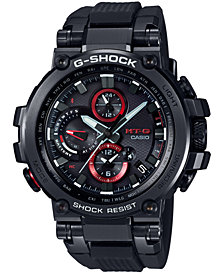 G-Shock Men's Solar Black Resin Strap Watch 51.7mm