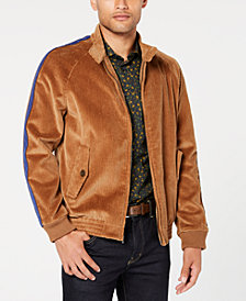 Tallia Men's Slim-Fit Stretch Corduroy Bomber Jacket