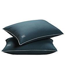 Down Alternative Stomach Sleeper Soft Pillow with MicronOne® Technology (Set of 2) - Standard/Queen Size