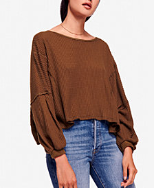Free People Love Me Open-Back Thermal Top