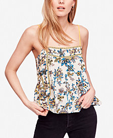 Free People Sweet Talk Printed Camisole