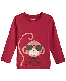 First Impressions Baby Boys Monkey Graphic T-Shirt, Created for Macy's