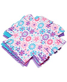 Melissa & Doug Created by Me Flower Fleece Quilt No-Sew Craft Kit