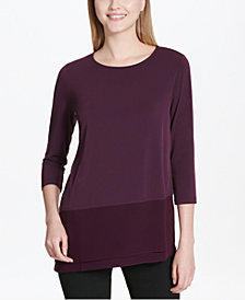 Calvin Klein Asymmetrical Top