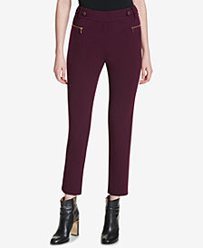 Calvin Klein Straight-Leg Pants