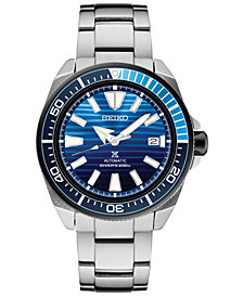 LIMITED EDITION Seiko Men's Automatic Prospex Special Edition Diver Stainless Steel Bracelet Watch 44mm