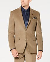 Bar III Men's Slim-Fit Stretch Corduroy Sport Coat, Created for Macy's