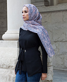 Verona Collection Printed Chiffon Head Scarf