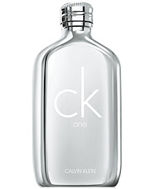 Calvin Klein CK One Platinum Edition Eau de Toilette Spray, 6.7-oz.