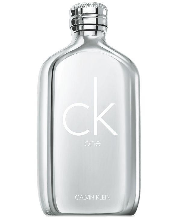 Calvin Klein CK One Platinum Edition Eau de Toilette Spray, 6.7-oz.