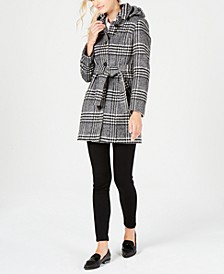 Hooded Belted Coat