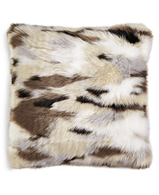 """Lacourte Wyatt 20"""" Square Decorative Pillow, Created for Macy's"""