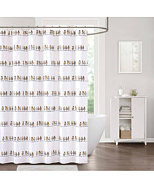 "Décor Studio Pompano 72"" x 72"" Shower Curtain"
