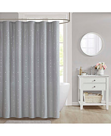 "Décor Studio Stella 70"" x 72"" Shower Curtain"