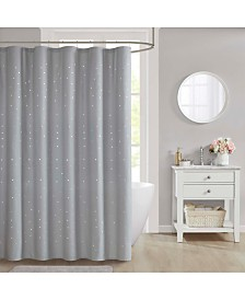"CLOSEOUT! Décor Studio Stella 70"" x 72"" Shower Curtain"