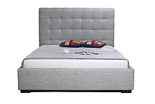 Belle Storage Bed King  Fabric