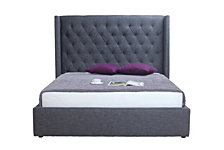 Blair 2Drawer Bed King Fabric