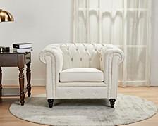 Wilmington Button Tufted Arm Chair