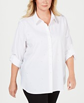 806d73bc405 foxcroft plus size womens shirts - Shop for and Buy foxcroft plus ...
