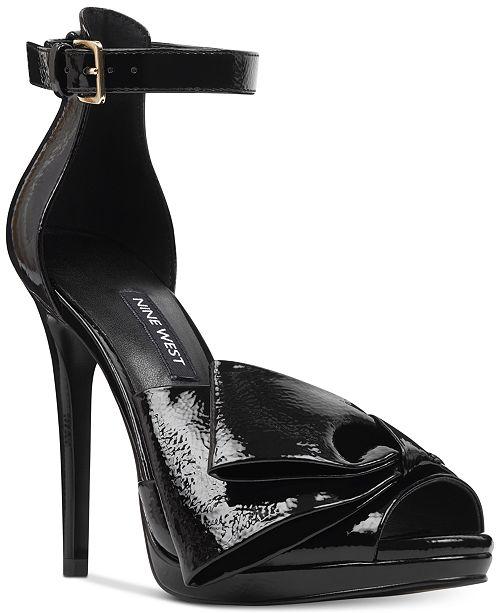 9fc1b61fd3a3 Nine West Bellen Dress Sandals   Reviews - Sandals   Flip Flops ...