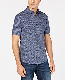 Michael Kors Men's Geo-Print Shirt