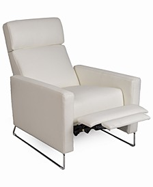 CLOSEOUT Casdia Leather Pushback Recliner