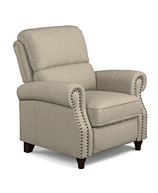 ProLounger® Push Back Recliner Chair in Barley Tan Linen