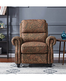 ProLounger® Push Back Recliner Chair in Paisley