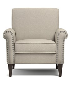 Janet Linen Arm Chair