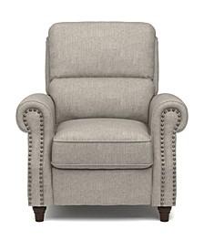 ProLounger® Push Back Recliner Chair in Dove Gray Linen
