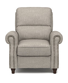 ProLounger® Push Back Recliner Chair in Dove Gray Linen