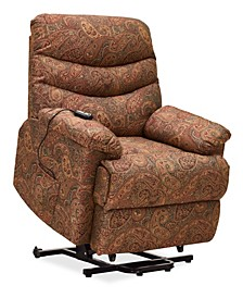 Prolounger Paisley Wall Hugger Power Lift Reclining Chair