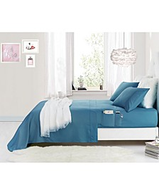 Benzoyl Peroxide-Resistant Sheet Set with Storage Pocket Collection