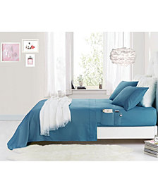 Rampage Benzoyl Peroxide-Resistant Queen Sheet Set with Storage Pockets