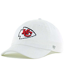 '47 Brand Kansas City Chiefs CLEAN UP Strapback Cap