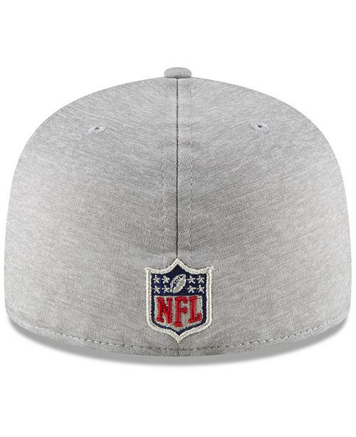 b96aa5c5c57 New Era Houston Texans On Field Sideline Road 59FIFTY FITTED Cap ...