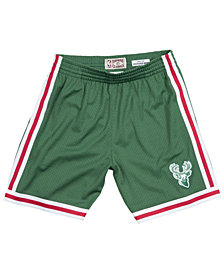 Mitchell & Ness Men's Milwaukee Bucks Swingman Shorts