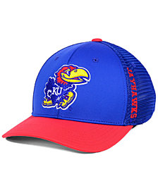 Top of the World Kansas Jayhawks Chatter Stretch Fitted Cap