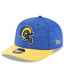New Era Los Angeles Rams On Field Low Profile Sideline Home 59FIFTY FITTED Cap