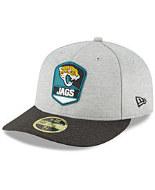 New Era Jacksonville Jaguars On Field Low Profile Sideline Road 59FIFTY FITTED Cap