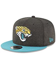 New Era Jacksonville Jaguars On Field Sideline Home 9FIFTY Snapback Cap