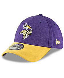 New Era Minnesota Vikings On Field Sideline Home 39THIRTY Cap