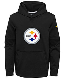 Nike Pittsburgh Steelers Circuit Logo Hoodie, Big Boys (8-20)