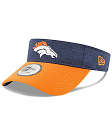 New Era Denver Broncos On Field Sideline Visor