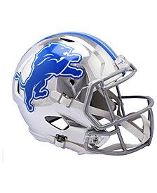 Riddell Detroit Lions Speed Chrome Alt Replica Helmet