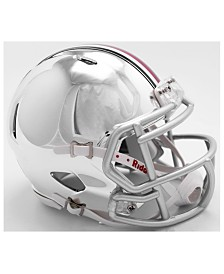Riddell Ohio State Buckeyes Speed Chrome Alt Mini Helmet
