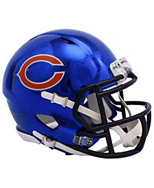 Riddell Chicago Bears Speed Chrome Alt Mini Helmet