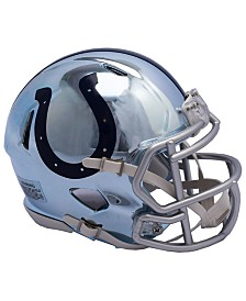 Riddell Indianapolis Colts Speed Chrome Alt Mini Helmet