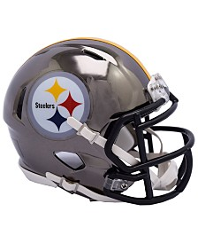 Riddell Pittsburgh Steelers Speed Chrome Alt Mini Helmet