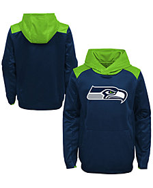 Outerstuff Seattle Seahawks Off The Grid Hoodie, Little Boys (4-7)